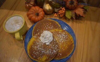 Pumpkin Pancakes are Back!